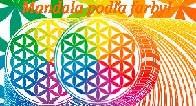 mandala podla farby