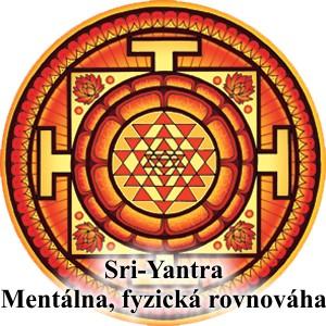 mandala rovnováhy Sri-Yantra