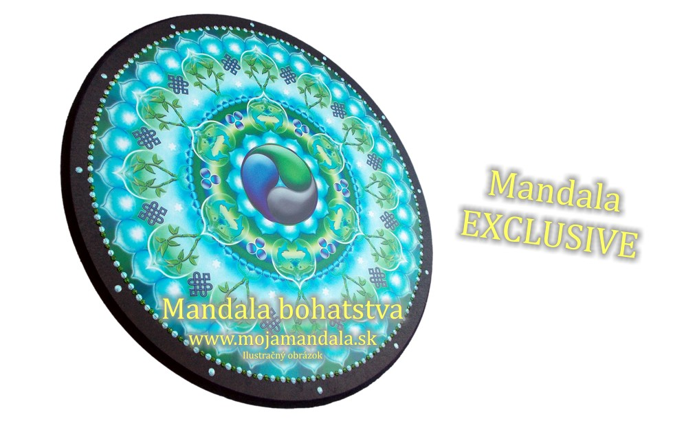 Exclusive mandala bohatstva peniaze rast for Cuadros mandalas feng shui decoracion mandalas
