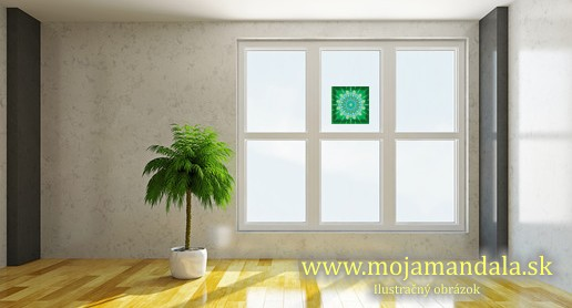 mandala zdravia na okno