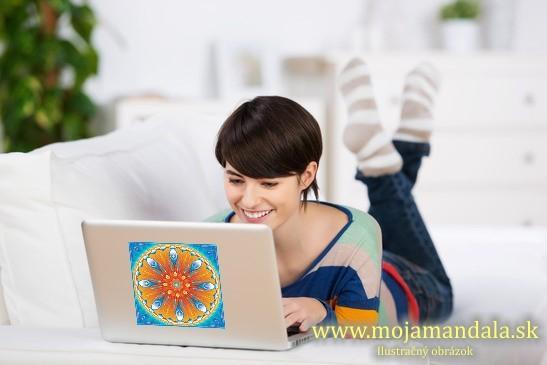 mandala radosti na notebook