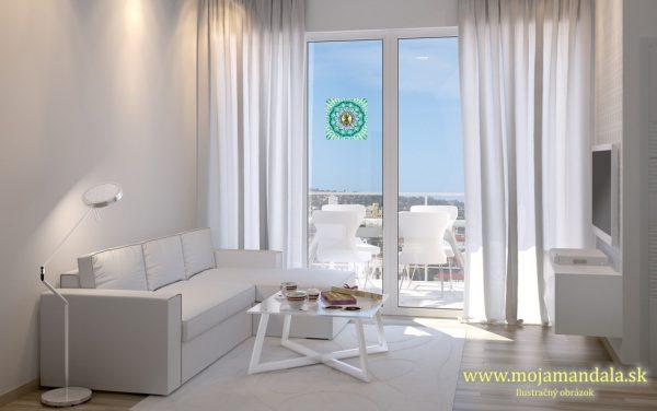 mandala pre otehotnenie na okno