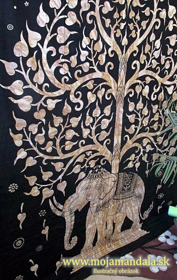 mandala na stenu